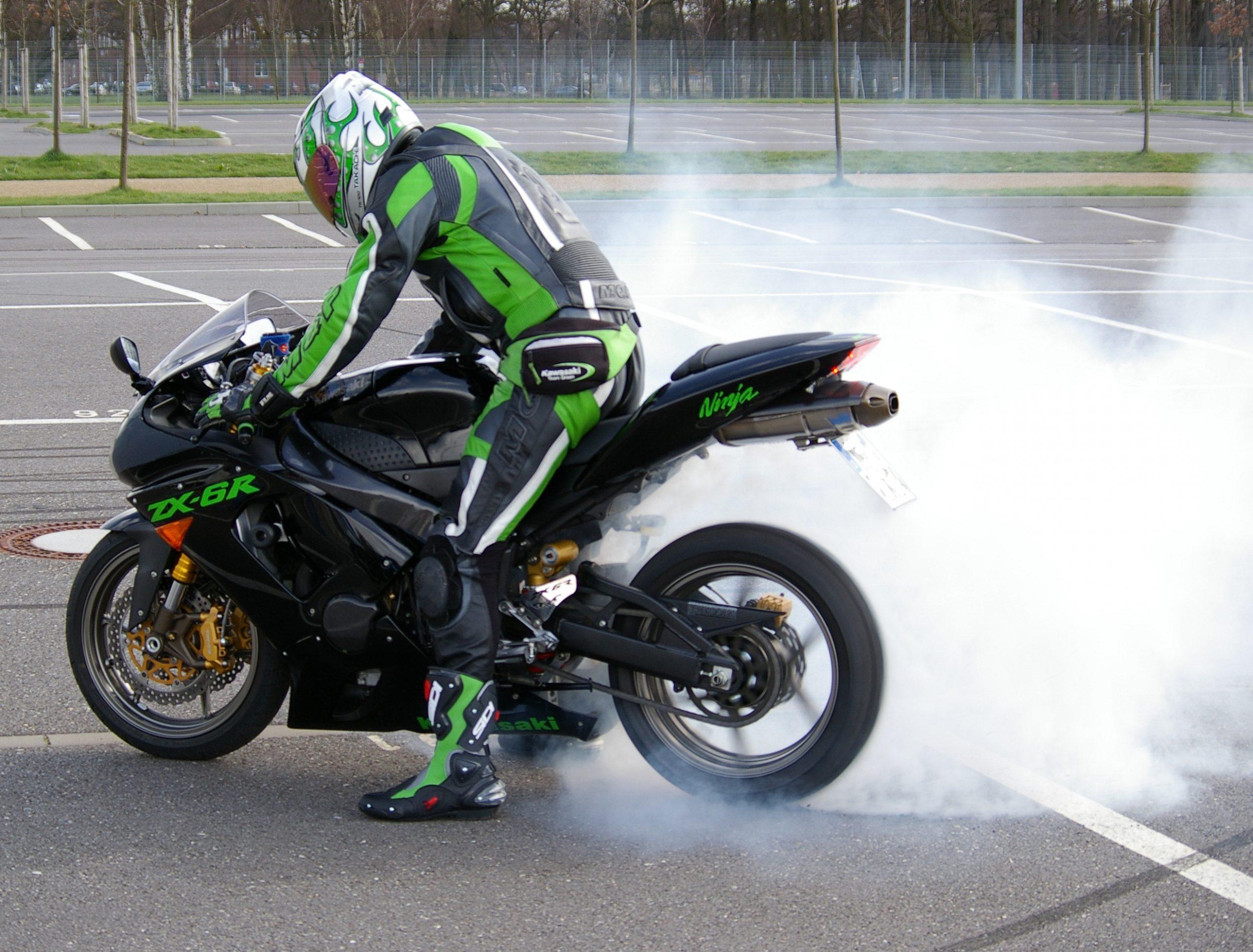 Burnout Motorbike