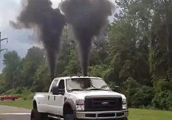 Rolling Coal - Diesel Truck