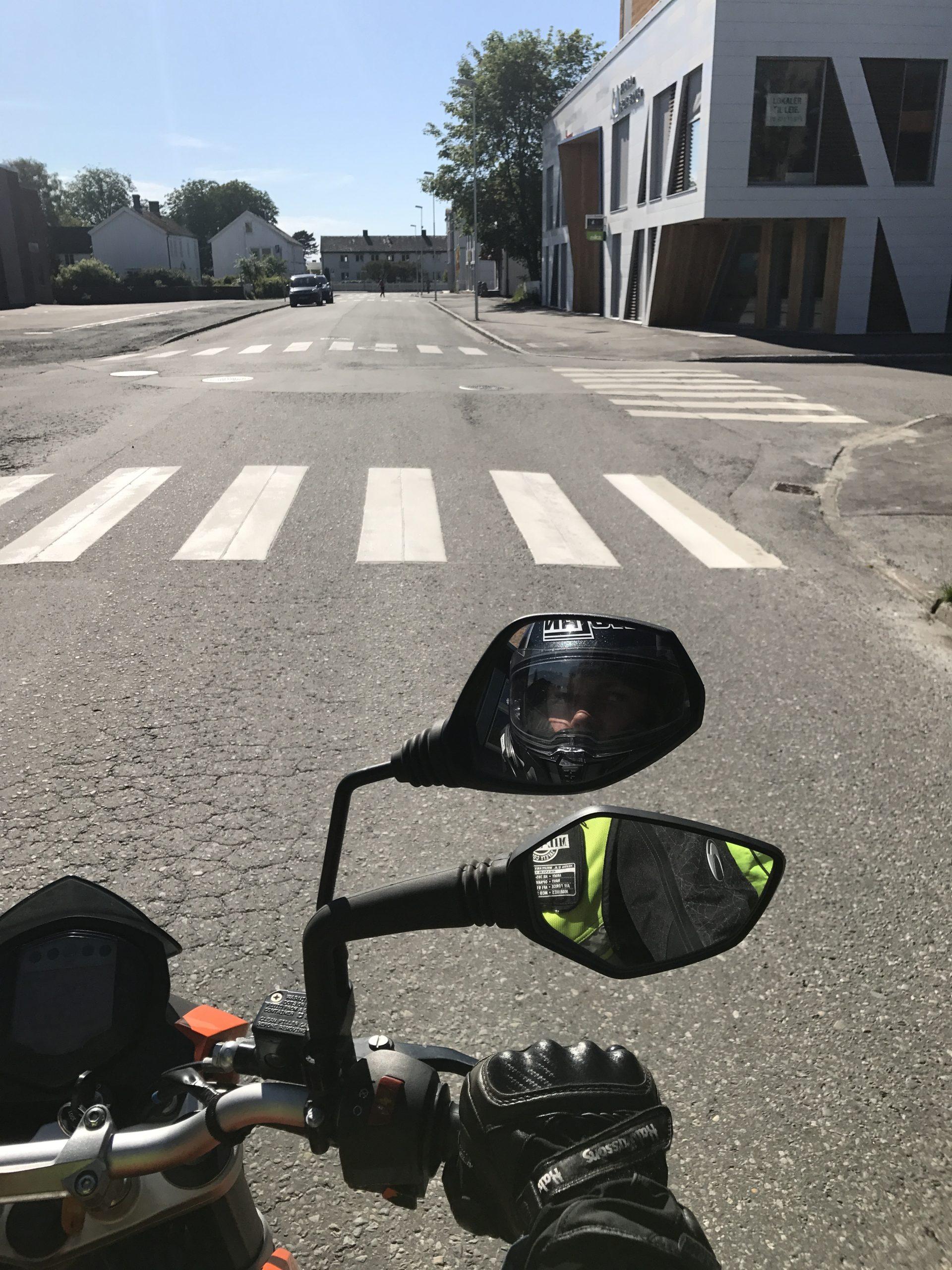 Spiegel Motorrad
