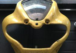 SV 650 AV 2001 Windschutz Schild gelb