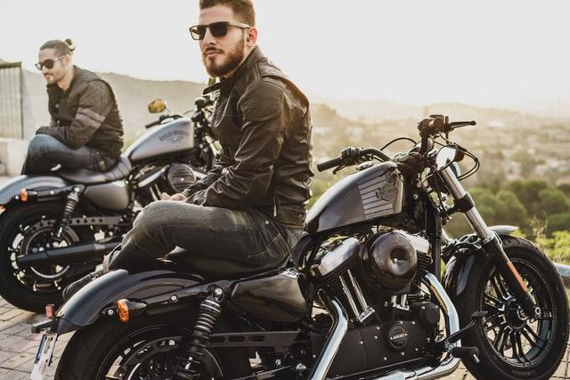 harley davidson - two riders